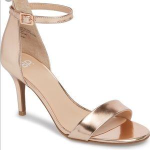 NWOT bp luminate open toe strappy dress sandals, 7